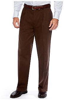 Saddlebred Pleated Twill Pants