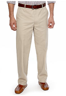 Saddlebred Flat Front Twill Pants