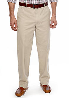 Saddlebred® Straight-Fit Flat-Front Wrinkle-Resistant Pants