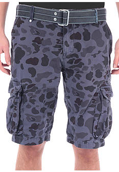 Buffalo David Bitton Camo Cargo Shorts