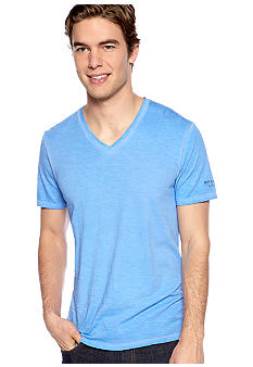 Buffalo David Bitton V-Neck Solid Tee