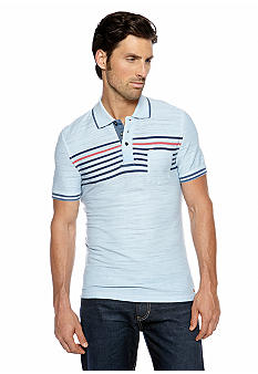 Buffalo David Bitton Chest Stripe Polo