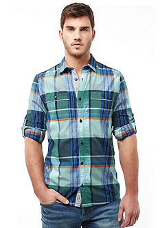 Buffalo David Bitton Sayor Plaid Woven Shirt