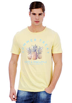 Buffalo David Bitton Nifarf Pineapple Graphic Tee