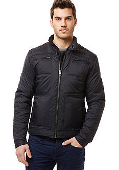 BUFFALO DAVID BITTON Jizela Nylon Moto Jacket