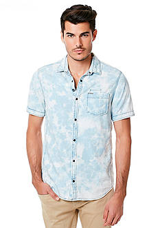 BUFFALO DAVID BITTON Sixel Denim Shirt