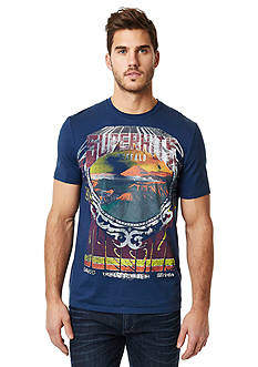 BUFFALO DAVID BITTON Nicart Superhits Fesitval Crew Neck Graphic Tee