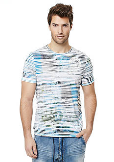BUFFALO DAVID BITTON Nilax Stripe Crew Neck T-Shirt