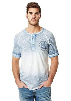 BUFFALO DAVID BITTON Nilet Ombre Short Sleeve Henley Shirt