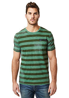 BUFFALO DAVID BITTON Narule Crew Neck Stripe Tee