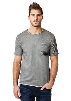 BUFFALO DAVID BITTON Nafly Crew Neck Pocket Tee