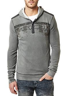 BUFFALO DAVID BITTON Naking 1/4 Zip Hooded Sweater