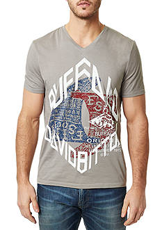 BUFFALO DAVID BITTON Nirey Short Sleeve Graphic Tee