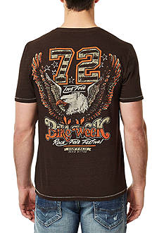 BUFFALO DAVID BITTON Nicheck Short Sleeve Graphic Tee