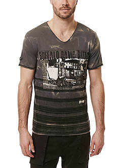 BUFFALO DAVID BITTON Nawash Short Sleeve Graphic Tee