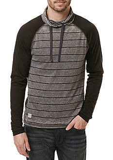 BUFFALO DAVID BITTON Kigreen Funnel Neck Lightweight Hoodie