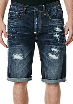 BUFFALO DAVID BITTON Parker X Destructed Shorts