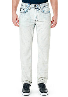BUFFALO DAVID BITTON Six Marble Super Bleach Jeans