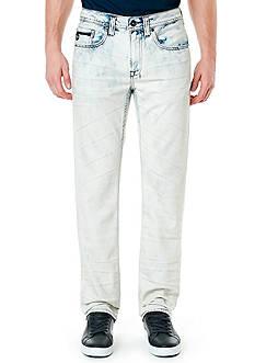 BUFFALO DAVID BITTON Six Marble Super Bleach Jeans
