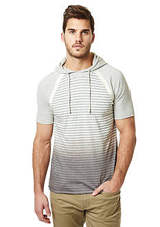 BUFFALO DAVID BITTON Nanielot Stripe Short Sleeve Hoodie