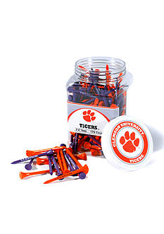 Team Golf Clemson Tigers 175 Count Imprinted Tee Jar