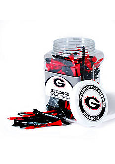 Team Golf Georgia Bulldogs 175 Count Imprinted Tee Jar