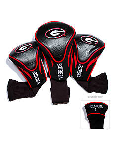 Team Golf Georgia Bulldogs 3-Pack Contour Head Covers