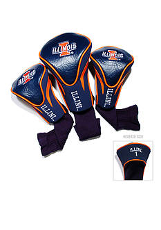 Team Golf Illinois Illini 3-Pack Contour Head Covers