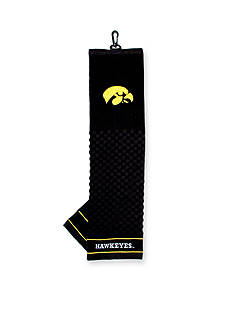 Team Golf Iowa Hawkeyes Embroidered Towel