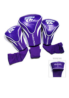 Team Golf Kansas State Wildcats 3-Pack Contour Head Covers