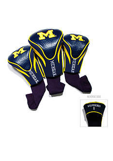 Team Golf Michigan Wolverines 3-Pack Contour Head Covers