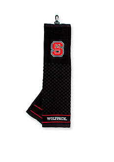 Team Golf NC State Wolfpack Embroidered Towel