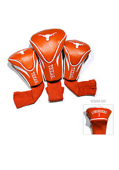 Team Golf Texas Longhorns 3-Pack Contour Head Covers