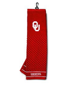 Team Golf Oklahoma Sooners Embroidered Towel