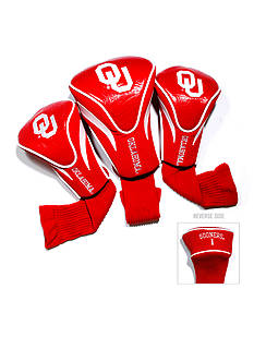 Team Golf Oklahoma Sooners 3-Pack Contour Head Covers
