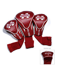 Team Golf Mississippi State Bulldogs 3-Pack Contour Head Covers
