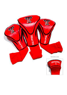 Team Golf Texas Tech Red Raiders 3-Pack Contour Head Covers