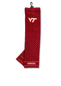 Team Golf Virginia Tech Hokies Embroidered Towel