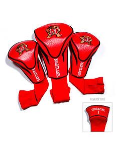 Team Golf Maryland Terrapins 3-Pack Contour Head Covers