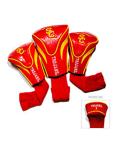 Team Golf USC Trojans 3-Pack Contour Head Covers
