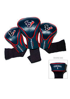 Team Golf Houston Texans 3-Pack Contour Head Covers
