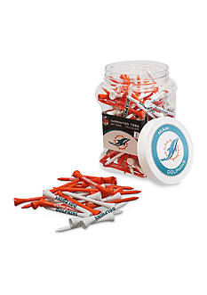 Team Golf Miami Dolphins 175 Count Imprinted Tee Jar