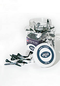 Team Golf New York Jets 175 Count Imprinted Tee Jar