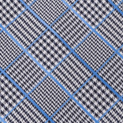Men: Regular Sale: Blue IZOD Kearny Grid Self-Tie
