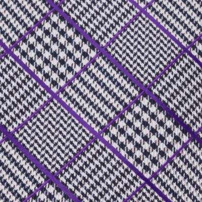 Young Men: Izod Interview Shop: Purple IZOD Kearny Grid Self-Tie