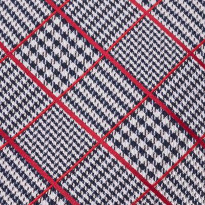Izod: Red IZOD Kearny Grid Self-Tie