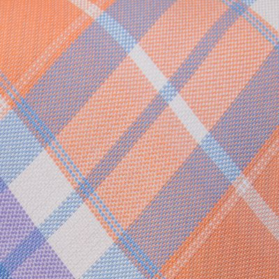 Young Men: Izod Accessories: Orange IZOD Pearson Plaid Tie