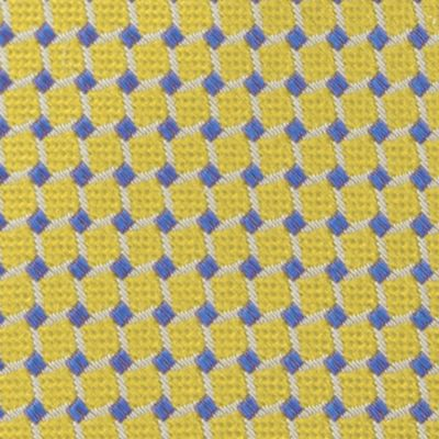 Young Men: Izod Interview Shop: Yellow IZOD Gilmore Grid Tie