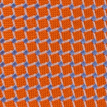 Young Men: Izod Accessories: Orange IZOD Gilmore Grid Tie