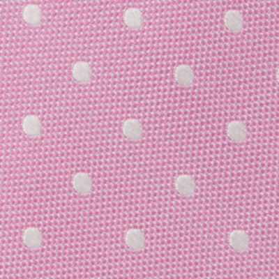 Young Mens Neckties: Pink IZOD Devon Dot Tie